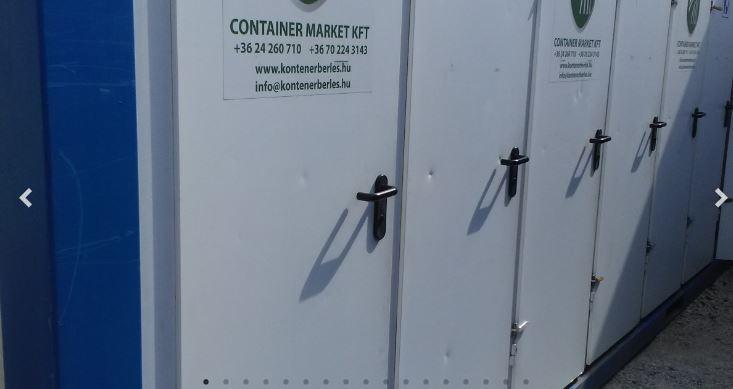 használt szaniter konténer