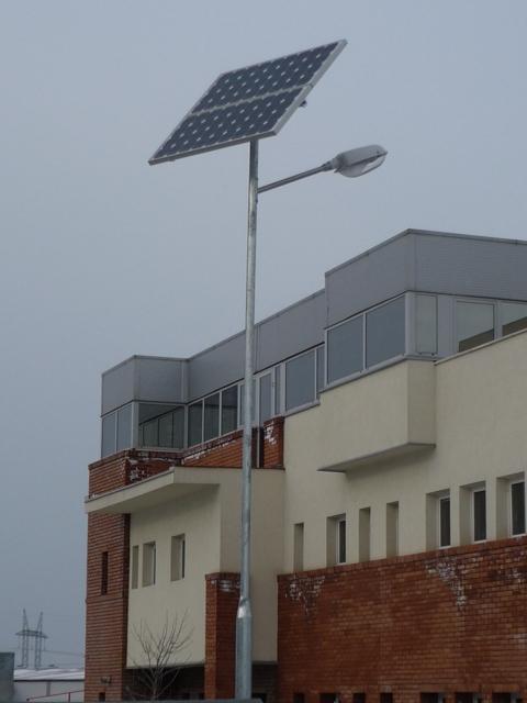 A napelemes közvilágítás szerkezeti felépítése