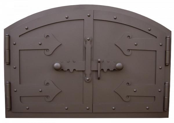 kemence ajtó